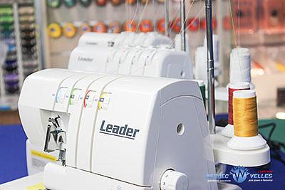 Виробник побутових швейних машин i оверлоков «LEADER» – нездоланний рух вперед!