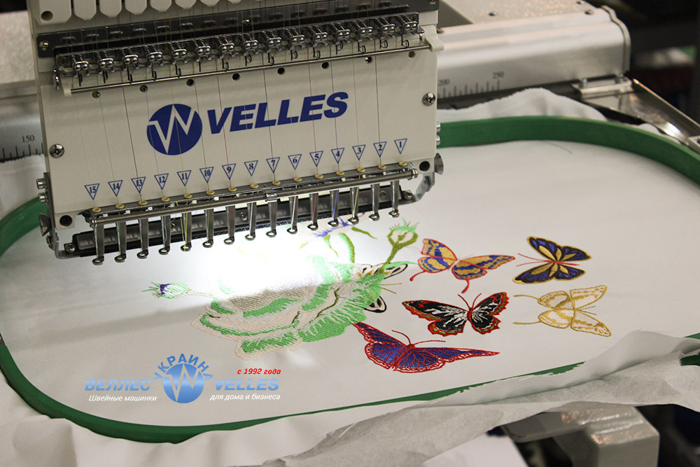 вышивальные машинки