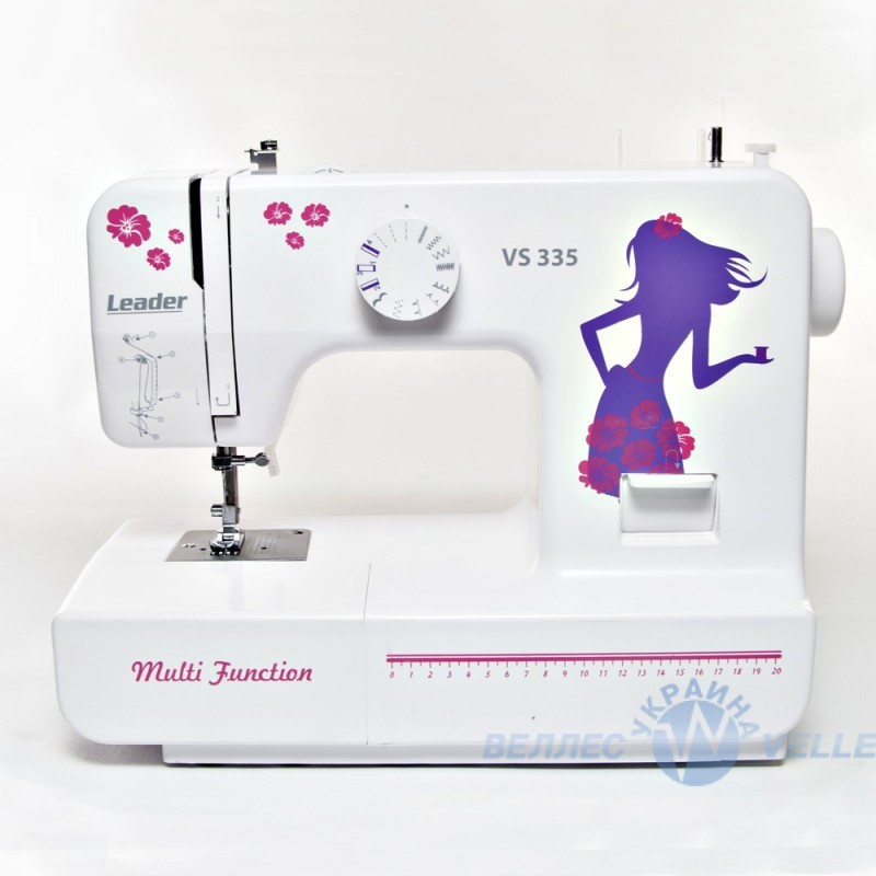 Электромеханическая швейная машинка Leader