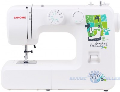 Електромеханічна швейна машинка Janome Sewing Dream 550