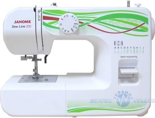 швейная машинка Janome SewLine 200к