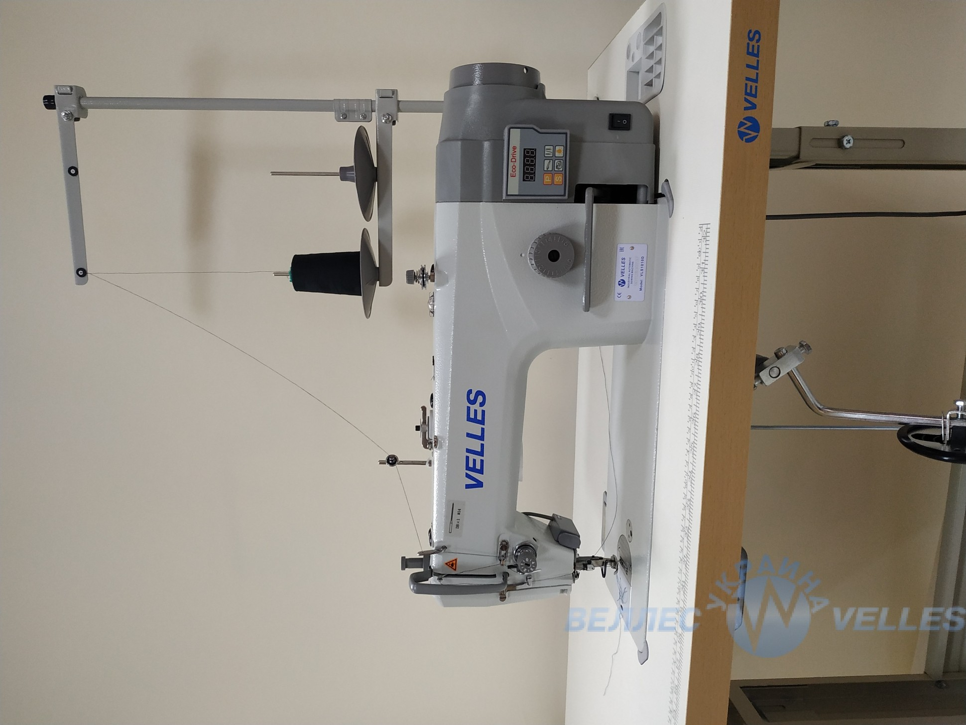 промышленная швейная машина velles